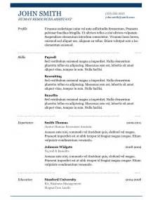 Resume Templates 5 Best Sles Resume Objective Exles Sles Of Cv Templates Format Best Professional