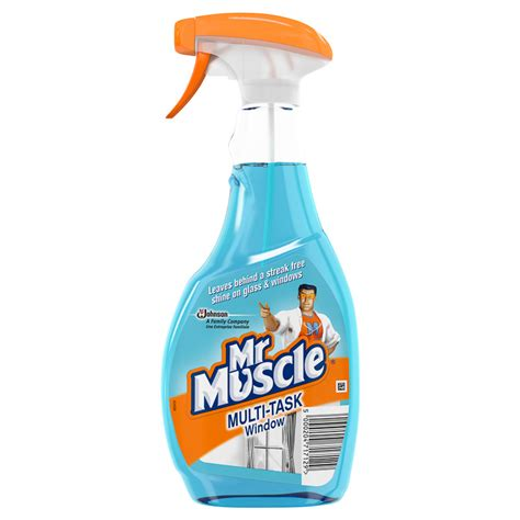 Mr Clean Bathroom Cleaner 7 Day Shine by Mr Window Cleaner 500ml Household Cleaning