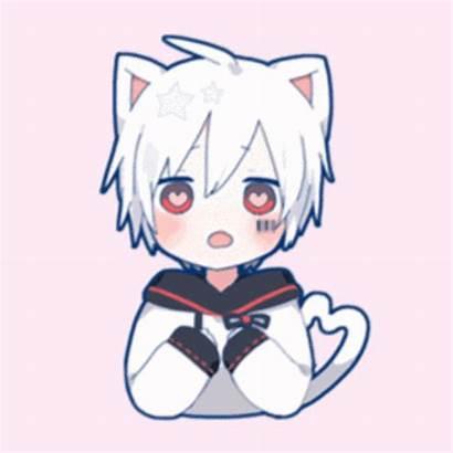 Mafumafu Anime Utaite Chibi Chicos Neko Kawaii