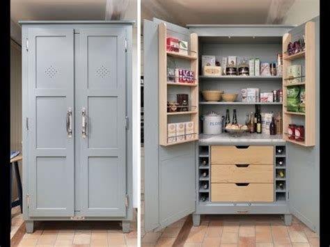 kitchen pantry cabinet freestanding youtube
