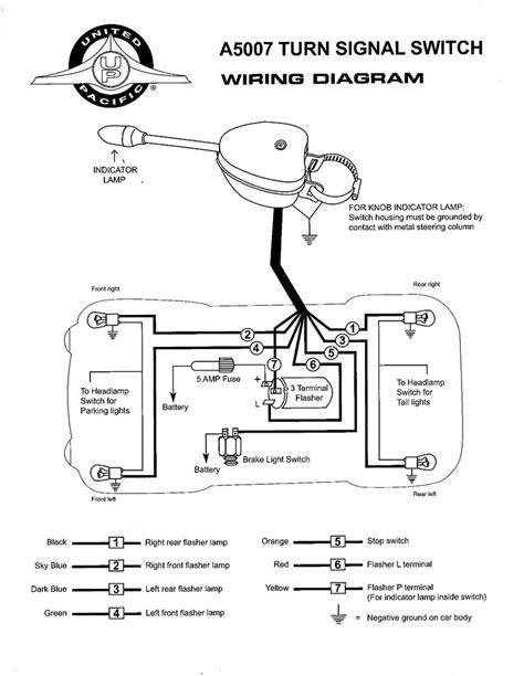 grote turn signal switch wiring diagram wiringdiagram