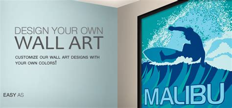Make Your Own Wall Art  Design Your Own Giclee Prints And