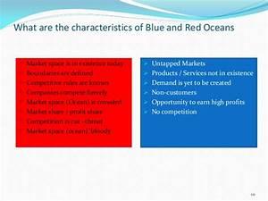 Blue ocean strategy presentation