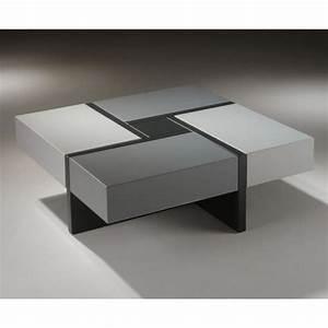 Table Basse Grise Pas Cher : les tables basses table basse table pliante et table de cuisine ~ Teatrodelosmanantiales.com Idées de Décoration