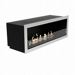 Decoflame Orlando Recessed Wall Bio Ethanol Fireplace