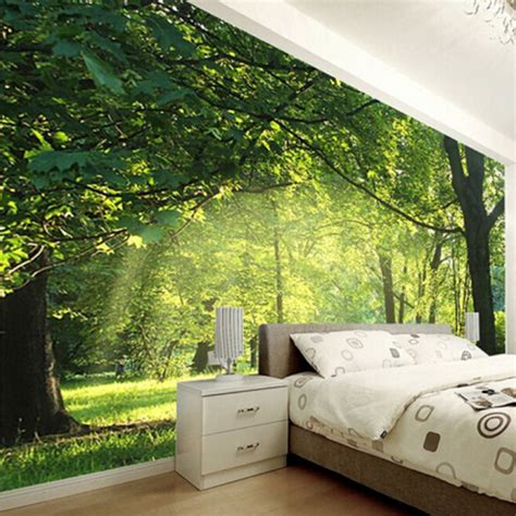 custom photo wallpaper  natural scenery wall decorations