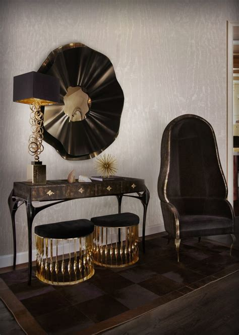 black  gold furniture   home decor