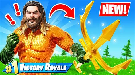 Aquaman In Fortnite Youtube