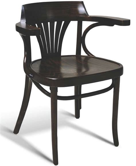 classic bent wood dining arm chair