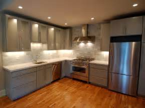 modern backsplash tiles for kitchen cuisine cuisine equipee ikea avec couleur