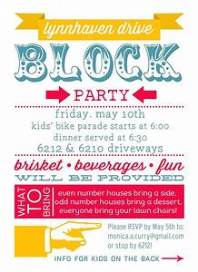 block party invitation idea thecurryinvitationsblogspot With block party template flyers free