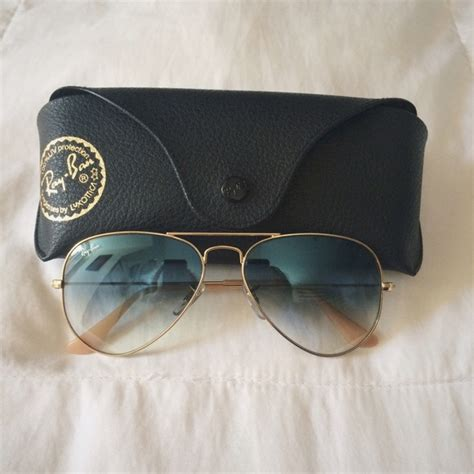ray ban light blue gradient 69 off ray ban accessories ray ban aviators light