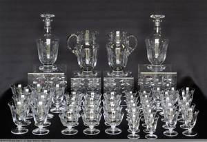 Service De Verre En Cristal : service de verres en cristal poque 1930 xxe si cle ~ Teatrodelosmanantiales.com Idées de Décoration