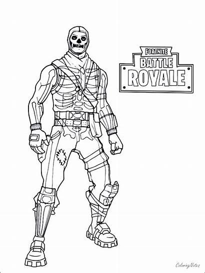Fortnite Coloring Pages Battle Royale Drift Cool