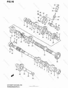 Suzuki Atv 2001 Oem Parts Diagram For Transmission 1