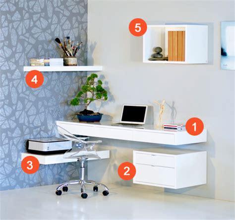 floating office desk ode office solution