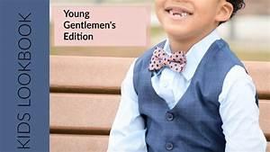 Kids Lookbook - Boys Formal Wear - YouTube