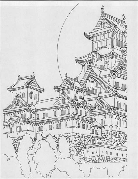 17+ Images About Architecture Coloring Pages For Adults On