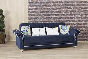 royal home sofa bed in dark blue fabric by casamode w options With royal blue sofa bed