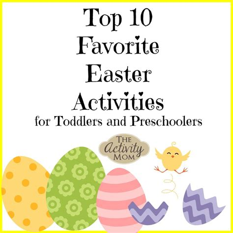 the activity 10 easter activities the activity 638   10 Easter Activities for Preschoolers and Toddlers 1080x1080