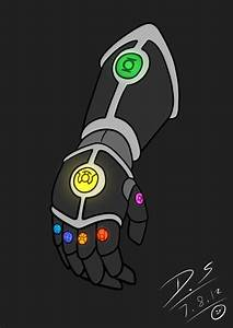 green lantern power gauntlet | The All Lantern Gauntlet by ...