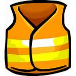 Vest Safety Icon Clothing Transparent Clipart Icons