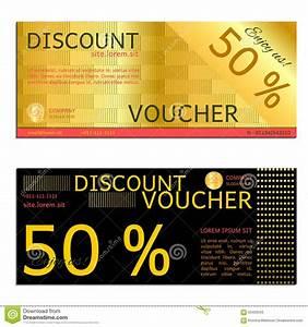 Discount voucher vector stock vector. Image of vector ...