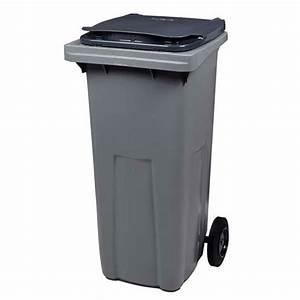 Poubelle 120 Litres : conteneur poubelle 120 litres 56663 ~ Melissatoandfro.com Idées de Décoration