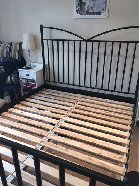 ikea metal bed frame dokka king in witney