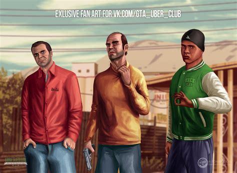 Grand Theft Auto V Fan Art By Cemetpuu On Deviantart