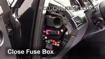 How To Open Audi Fuse Box by Interior Fuse Box Location 2005 2011 Audi A6 Quattro
