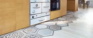 Carrelage En Forme De Parquet : mixer carrelage et parquet pour d limiter un espace ~ Premium-room.com Idées de Décoration