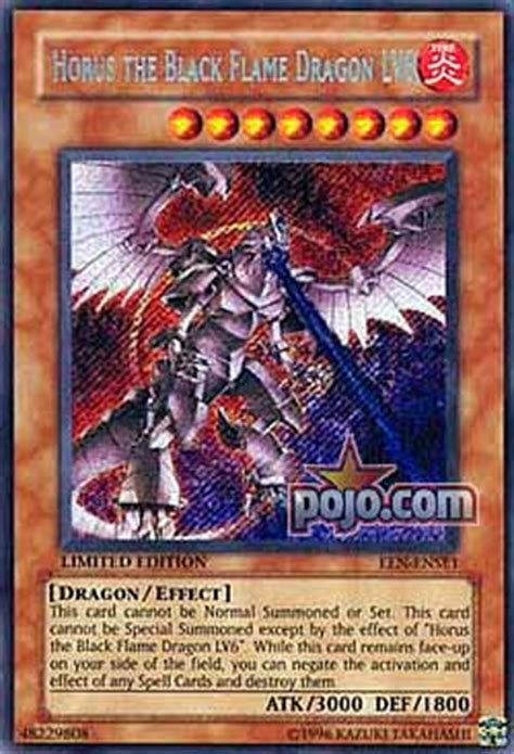 Horus The Black Deck 2006 by Pojo S Yu Gi Oh Site Lonely Wolf Featured Articles
