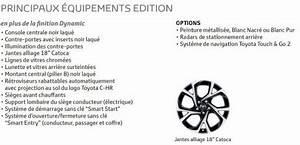 Nouvelle Toyota Chr : prix toyota c hr 2018 des volutions dans la gamme en avril 2018 l 39 argus ~ Medecine-chirurgie-esthetiques.com Avis de Voitures