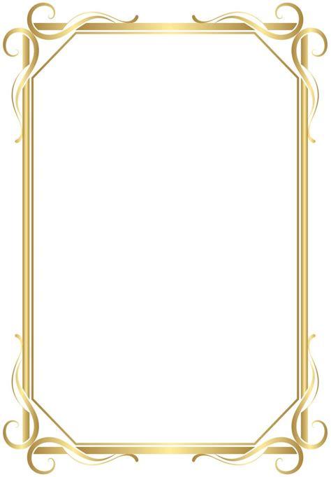 frame border transparent png gold image gallery