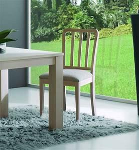 Chaise En Bois Massif : chaise contemporaine en bois massif brin d 39 ouest ~ Teatrodelosmanantiales.com Idées de Décoration