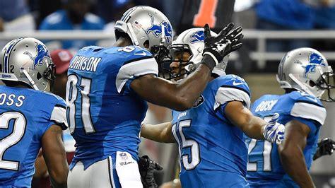 detroit lions roster review wide receiver pride  detroit