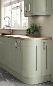 Fairford Painted - Sage Green - Pebble Kitchens