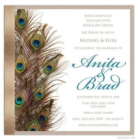 creative  unusual wedding invitation card design ideas