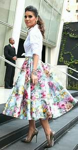 Best 25+ Floral skirt outfits ideas on Pinterest | Spring skirts outfits Fancy crop top and ...