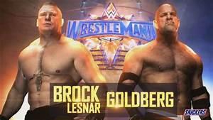 WWE News: Goldberg vs. Brock Lesnar official for ...