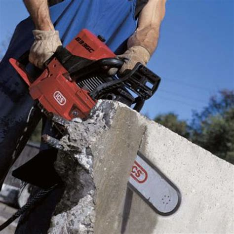 ics concrete cutting chainsaw hydraulic for hire rent