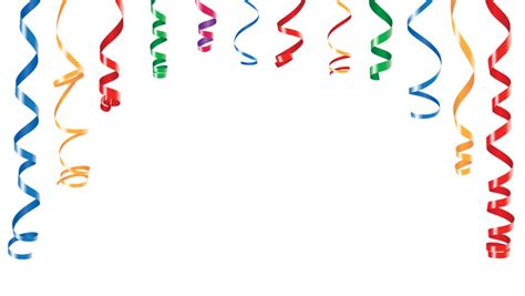 party decorations color streamers  stock footage video