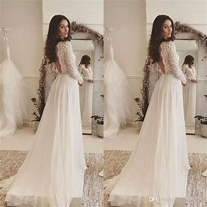 turmec long sleeve bohemian wedding dress wedding dress With boho wedding dress shop