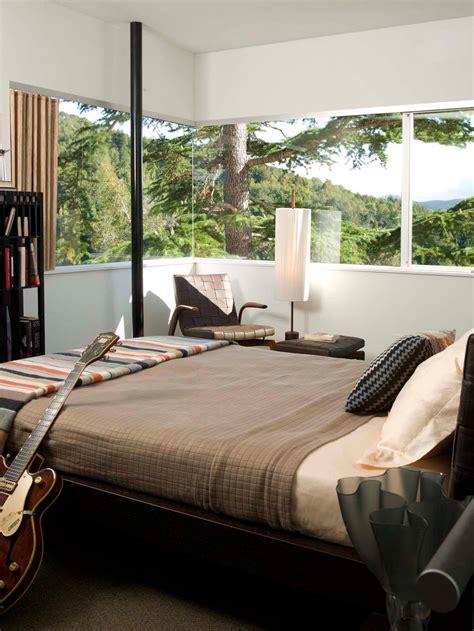chambre capitonné déco chambre à coucher au design créatif élégant et