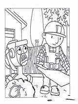 Bob Builder Coloring Pages Printable Characters Colouring Popular Drawing Library Template sketch template