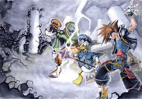Fan Art Kingdom Hearts