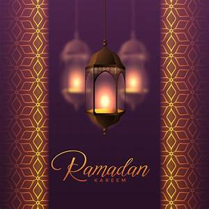hanging lanterns and islamic pattern design for ramadan ...  Ramadan