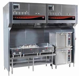 Wells 96 U0026quot  Cook Zone Universal Ventless Exhaust Hood System
