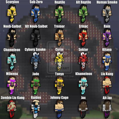 minecraft skin names  minecraft guides